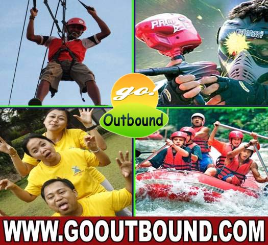 GO OUTBOUND - Paket Outbound MURAH, Rafting, Paintball