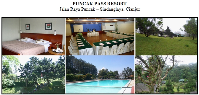 Puncak Pass Resort, Puncak Pass, lokasi outbound, hotel puncak pass