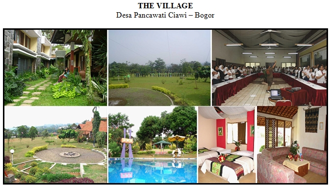 the village, the village bogor, the village ciawi, the village ciawi bogor, lokasi outbound, desa pancawati