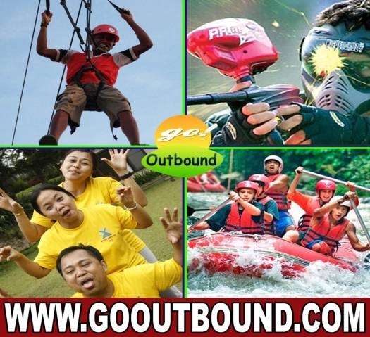 Paket Outbound MURAH, Rafting, Paintball